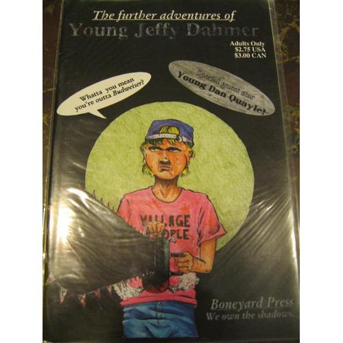 The Further adventures of young Jeffrey Dahmer comic by Boneyard Press from 1992