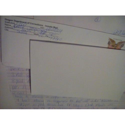 Keith Jesperson , 3 Page Letter & Envelope