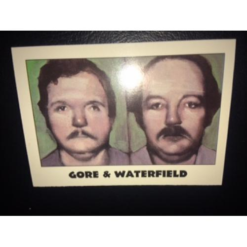 Gore and Waterfield True Crime Series Famous muderers from Eclipse Entreprises from 1992