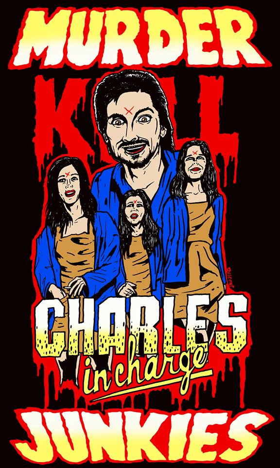 MURDER JUNKIES CHARLES IN CHARGE SHIRT