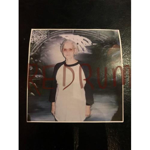 Dorothea Puente Prison 3 x 3 photograph signed on the back from 2007