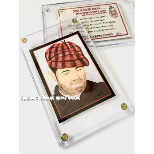 John Wayne Gacy * Ed Gein * Collector Case