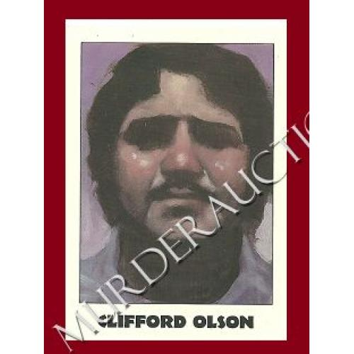 CLIFFORD OLSON trading/collector card