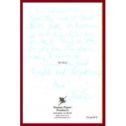 LYNETTE FROMME greeting card/envelope 10/31/2007 PAROLED