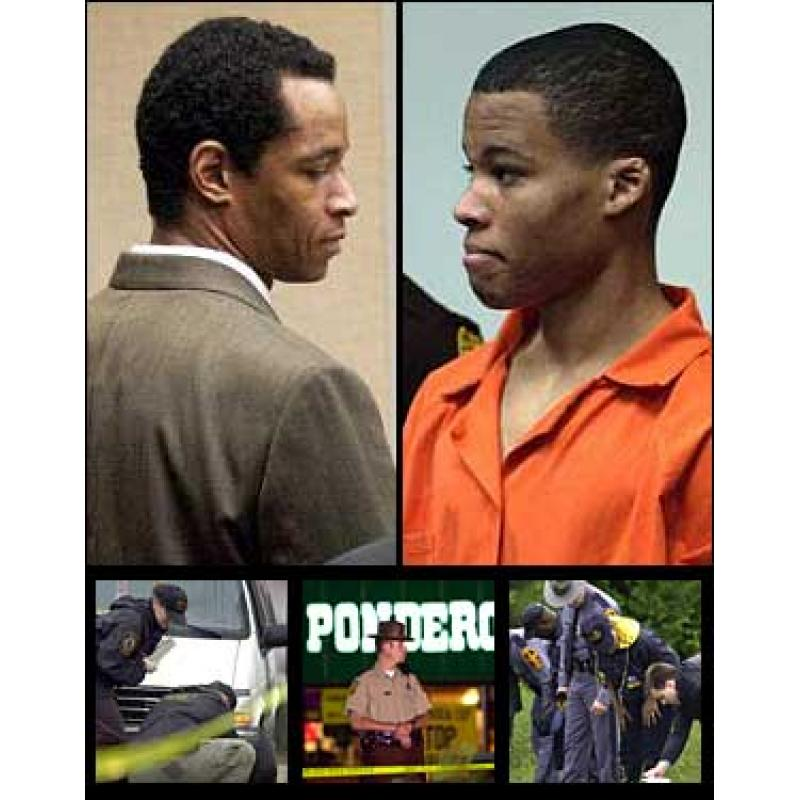 Lee Boyd Malvo washigton sniper prison ID card from Virginia Department of Corrections