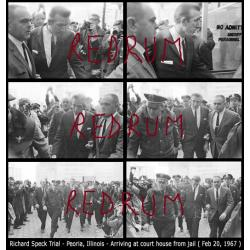 Richard Speck very unique lot including 9 original negatives related to Speck as he arrives as trial starts in Peoria, Illinois from 1967