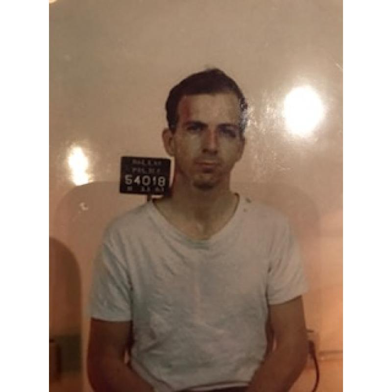 Lee Harvey Oswald 4 x 6 mugshot picture