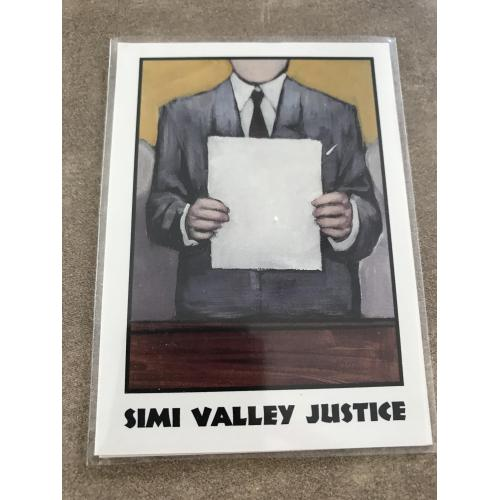 Simi Valley Justice rare chase card True Crime II Eclipse Entreprise 1992