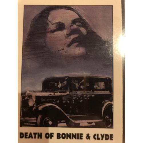Bonnie and Clyde éclipse card no. 34 série I from 1992