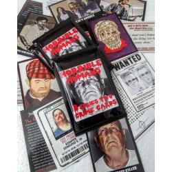 Horrible Humans Crime Cards Series 2 * Sealed Pack Of 8