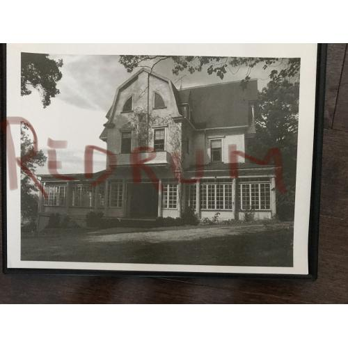 Amityville Horror house 9 x 11 glossy photograph in black and white