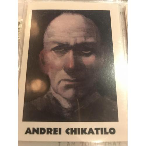 Andrei Chikatilo eclipse card no.202 from 1992