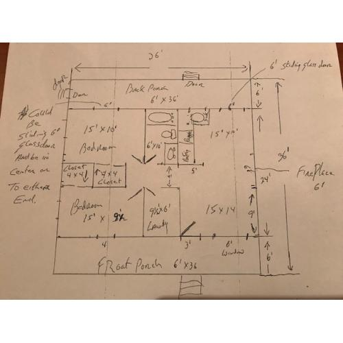 John Wayne Gacy 8.5 x 11 reprint of his original drawing map of his 8213 w. Summerdale house