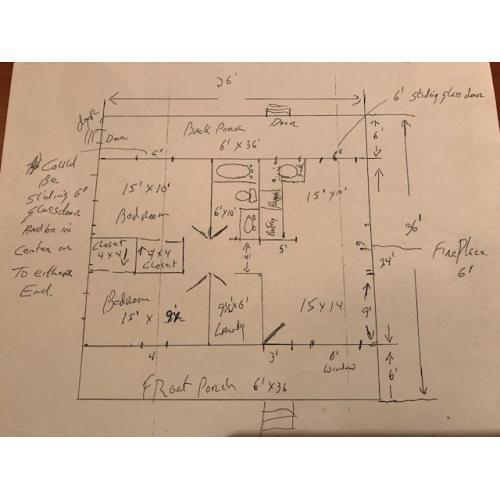 John Wayne Gacy 8.5 x 11 reprint of his original drawing map of his 8213 w. Summerdale house