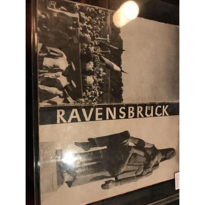 Ravensbruck concentration camp WWII booklet from 1950's
