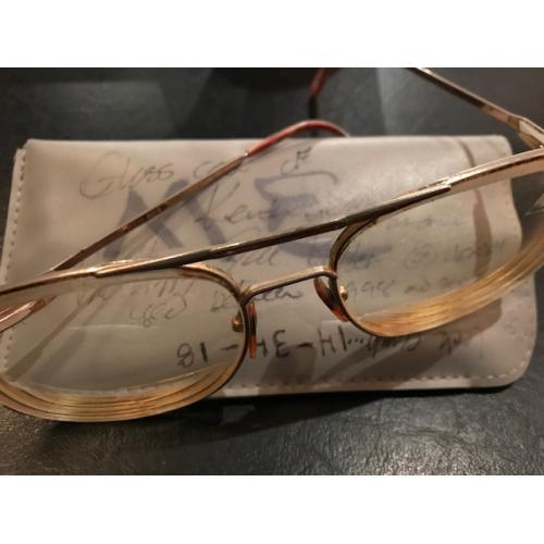 Keith Hunter Jesperson original worn glasses with case from 1998 to 2007