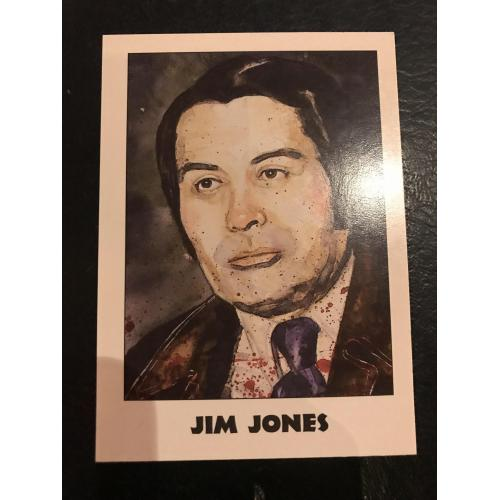 Jim Jones Guyana Massacre original eclipse trading card in mint condition from 1992
