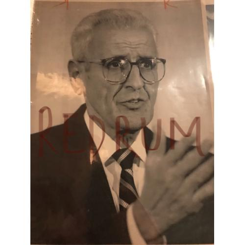 Dr. Jack Kevorkian superbe 8 x 10 press photograph from 1993