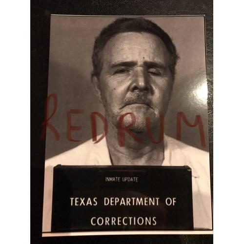 Henry Lee Lucas 3 x 4 Texas Department of Corrections inmate mugshot