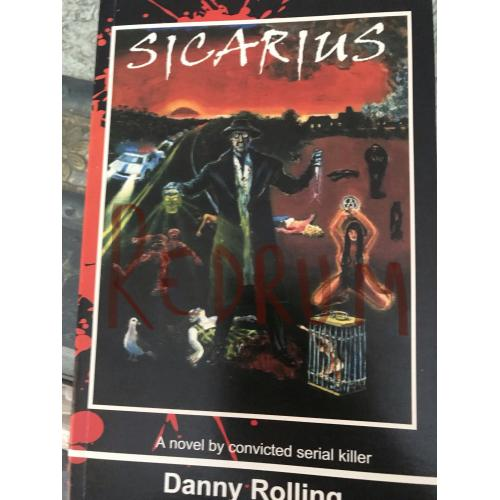 Danny Rolling original publishes sicarius book limited edition from 2002