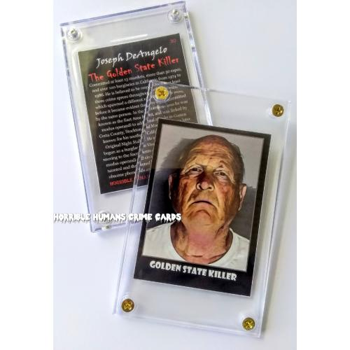 "Joseph DeAngelo ""The Golden State Killer"" Horrible Humans Crime Cards Series Two"