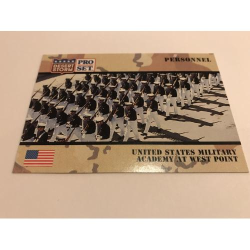 United States Military Academy at West Point Desert Storm card no.125 mint from 1991