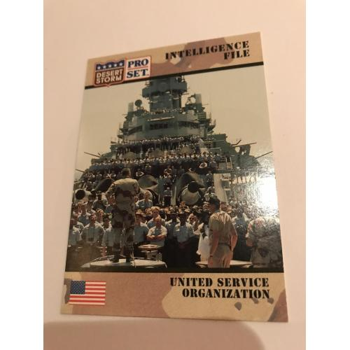 United States Organization Desert Storm card no.150 from 1991