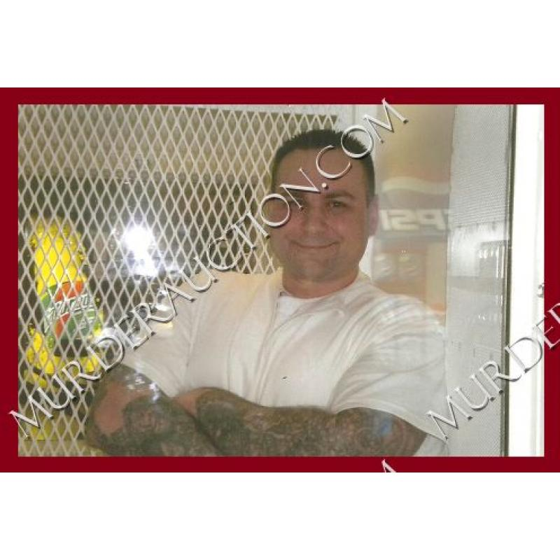 JOHN KING death row photo 4×6 EXECUTED