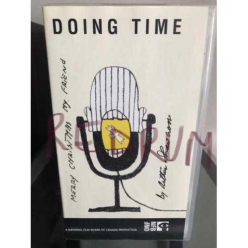 Doing Time VHS with cover signed by Arthur Shawcross from 2003