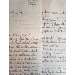 SERIAL KILLER GREGORY CLEPPER HANDWRITTEN 2 PAGE LETTER/ENVELOPE SET