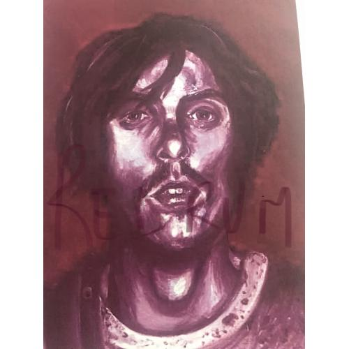 Richard Chase 8.5 x 11 portrait print on paper from 2000