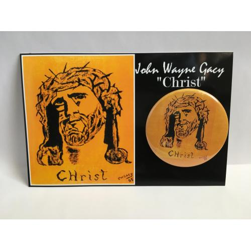 "John Wayne Gacy ""Christ"" Button"