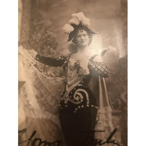 Miss Lil Hawthorne handsigned Yours Truly Lil Hawthorne early 1900's