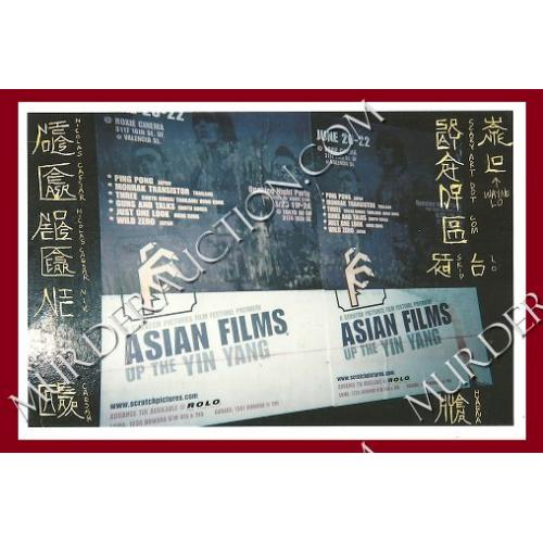 WAYNE LO crafted/signed 4×6 photograph (Asian Films)