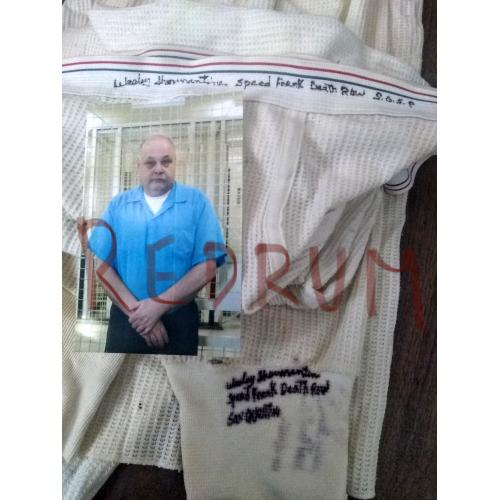 Westley Shermantine worm prison thermal pants signed Westley Shermantine Spead Freak Deathrow San Quentin