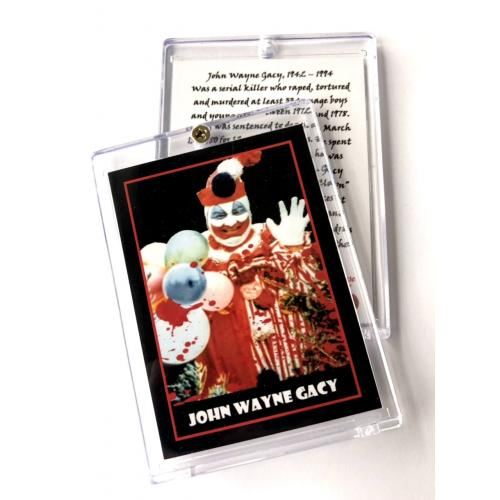 John Wayne Gacy *Pogo The Clown* Collector Case