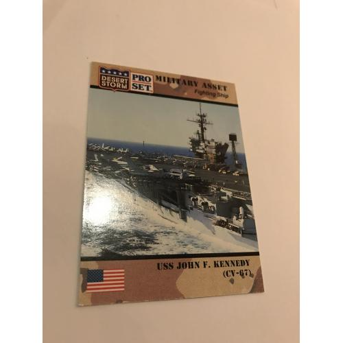 USS John F. Kennedy CV-67 Desert Storm car no. 180 from 1991