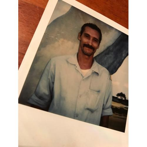James Munro original prison Polaroid from the mid 90's