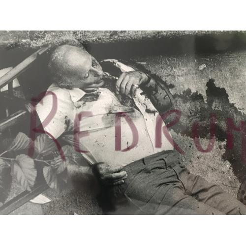 Carmine Galante acting boss 4 x 6 crime scene photograph from 1979