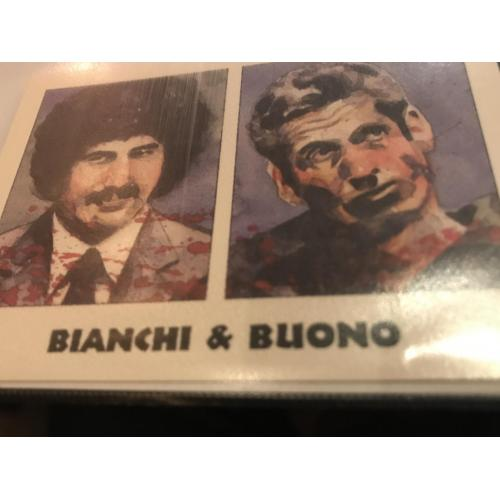 Kenneth Bianchi and Angelo Buono eclipse card no. 106 from 1992