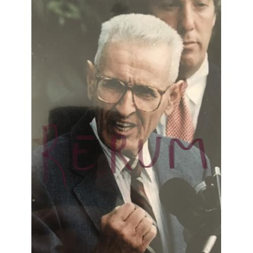 Dr. Jack Kevorkian speech 4 x 6 photograph 2000
