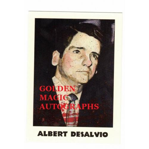 ALBERT DESALVO THE BOSTON STRANGLER - TRUE CRIME CARD
