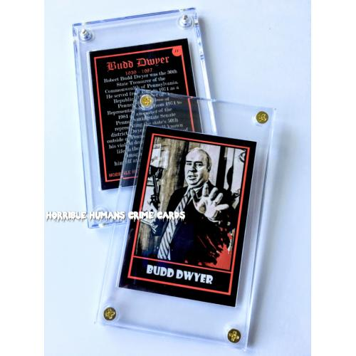 Budd Dwyer Collector Case