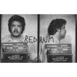 Edward Spreitzer Chicago Ripper worn and signed boxers behind bars from 1994