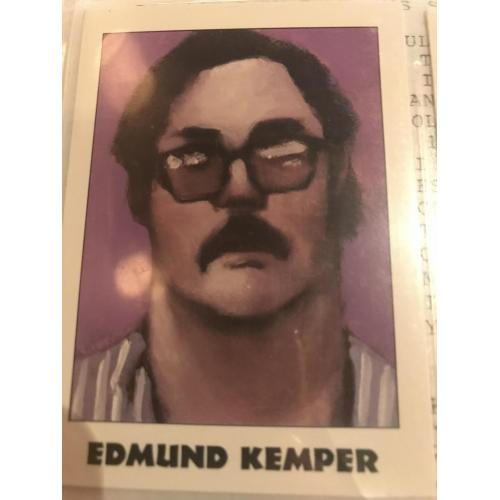 Edmund Kemper eclipse card no.186 from 1992