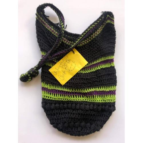 CHRISTA PIKE * Youngest Female Sentenced To Death * PERSONAL PRISON SHOWER BAG MADE BY HER WITH WRITTEN SIGNED NOTE ATTACHED