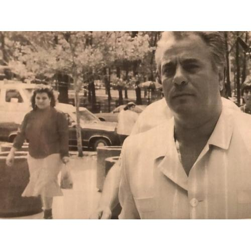 John Gotti 4 x 6 black and white photograph 1980's