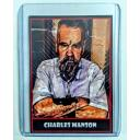 CHARLES MANSON * Horrible Humans Crime Card