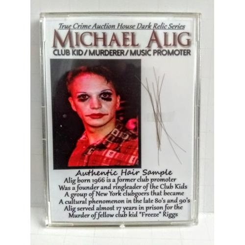 MICHAEL ALIG Authentic Hair Sample Collector Case