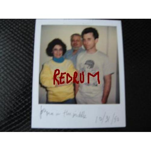 John Wayne Gacy polaroid in Menard Correctional Facility signed from 1990